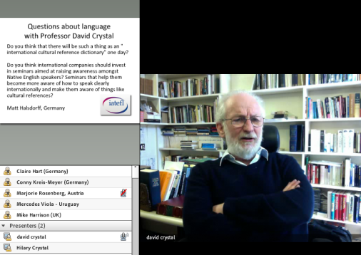David Crystal - IATEFL Webinar 2
